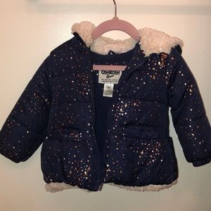 OshKosh B'gosh Jackets & Coats - Navy puffer jacket